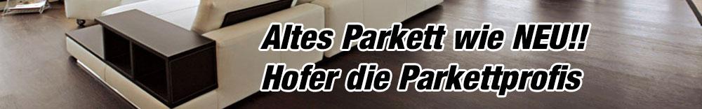 Parkett schleifen und ölen Wien