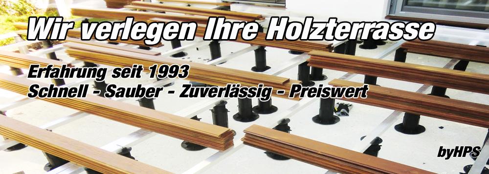 Holzterrasse verlegen Wien Niederösterreich