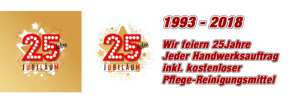 Jubiläum Hofer Parkett 25 Jahre