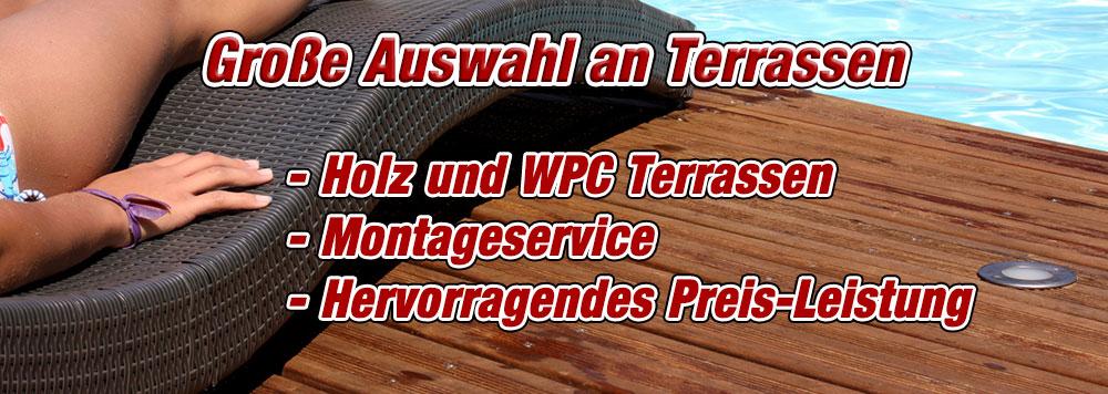 Holzterrasse WPC terrasse shop