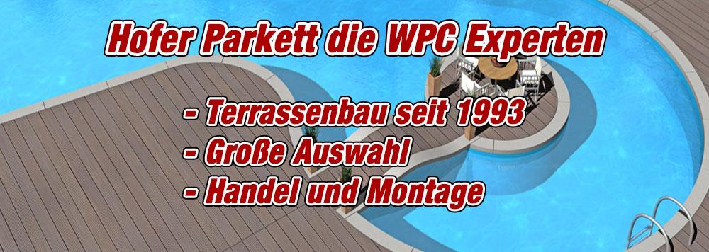 WPC Terrassen verlegen Wien
